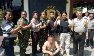 TNI Gadungan Palak Sopir Truk di Mojokerto