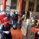 Wali Kota Mojokerto, Pimpin Penyemprotan Disinfektan di Tempat Ibadah
