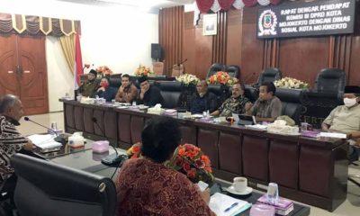 DPRD Kota Mojokerto Kawal Bansos Dampak Pandemi Covid-19, Temukan Penerima Tidak Tepat